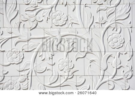 arabesque: oriental design elements of Sheikh Zayed Mosque, Abu Dhabi, United Arab Emirates