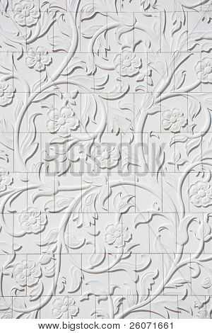 arabesque: design elements of Sheikh Zayed Mosque, Abu Dhabi, United Arab Emirates