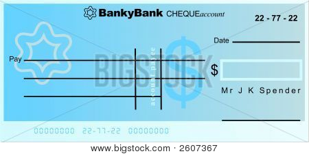 Dollar Cheque