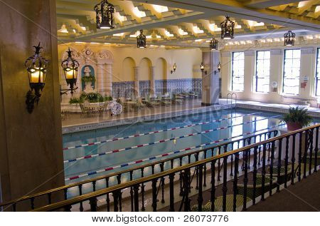 Ornate Pool, Intercontinental Hotel, Chicago