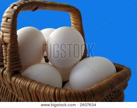 Proverbial 'Eggs In One Basket'.