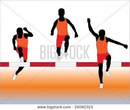Steeplechase Vector