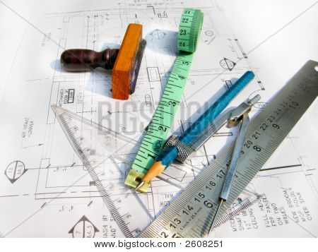 Architectural Drawings And Drafting Tools