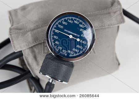 blood pressure monitor or sphygmomanometer, medical device