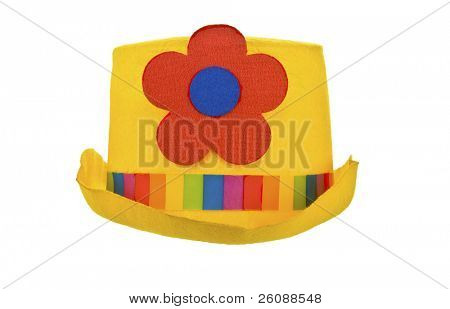 Yellow Clown hat