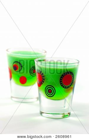 Lime Jello Shooters