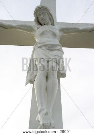 Forward Shot Of Christ