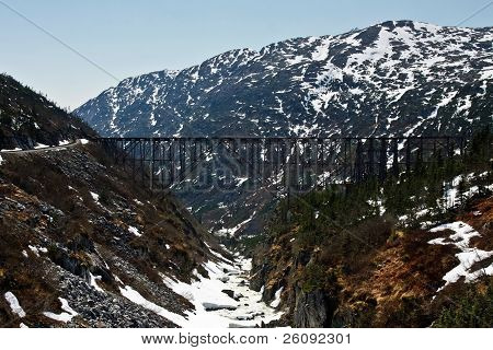 White Pass & Yukon Route Bridge