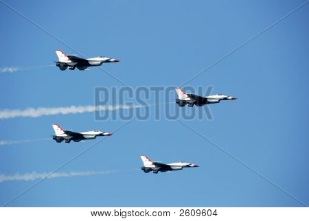 Four Thunderbirds