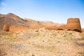 stock photo of zoroaster  - Abandoned Zoroastrian Castle - JPG