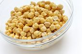 stock photo of bengal-gram  - Chickpeas  - JPG