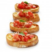 stock photo of antipasto  - Bruschetta - JPG