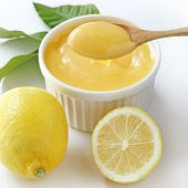 picture of curd  - Homemade Lemon Curd - JPG