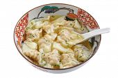 stock photo of wanton  - Wonton Soup - JPG