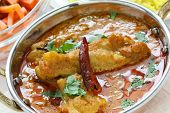 stock photo of kadai  - chicken curry  - JPG
