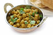 stock photo of kadai  - chana masala  - JPG