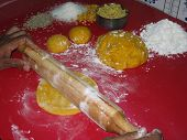 Preparation Of Tekwa(Indian Cooking) poster