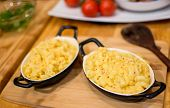 Cozy Comfort Food Plates Of Mac And Cheese, Macaroni And Cheese American Classic Cuisine And Home Co poster