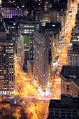 NEW YORK CITY, NY, USA - MAR 30: Flatiron Building was designed by Chicago's Daniel Burnham and was