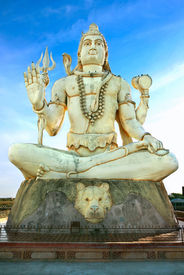 stock photo of shankar  - Big statue of India - JPG