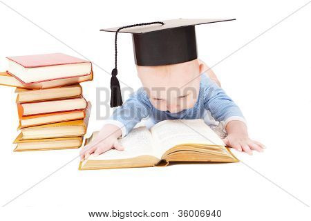 kid in a hat of the bachelor and the book.