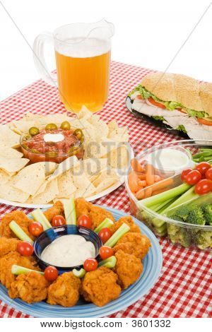 Party Food Vertical