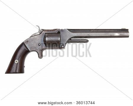 An Antique Civil War Revolver