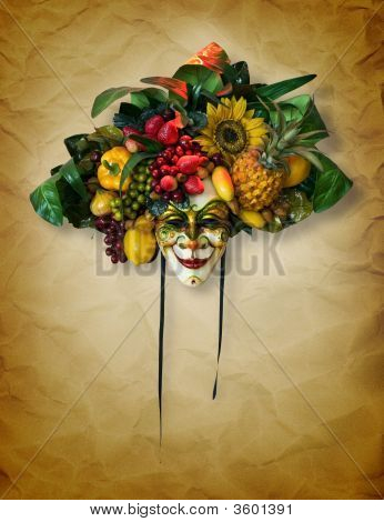 The Fruit Carnaval Mask