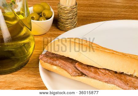 Mediterranean Baguette