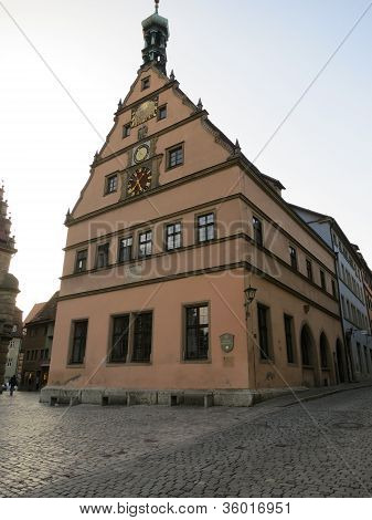 The City Councillors' Tavern of Rothenburg ob der Tauber