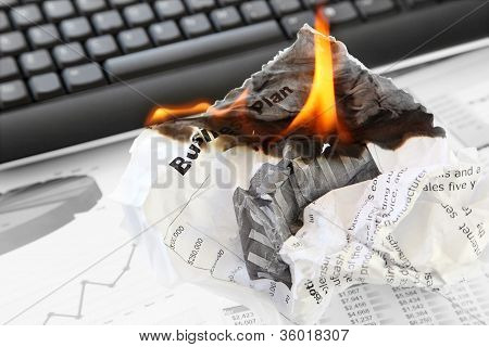 Burning Rejected Business Plan
