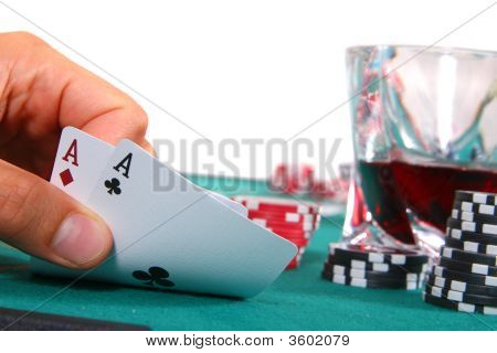 Two Aces And A Drink