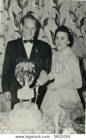 Wedding Photo Early 1940S