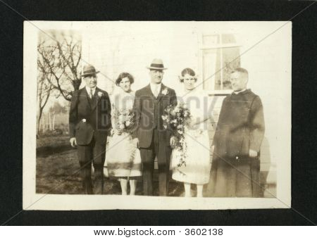 Wedding Photo Early 1930S