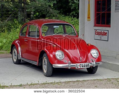 Historical Beetle Car