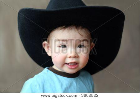 Boy In Cowboy Hat