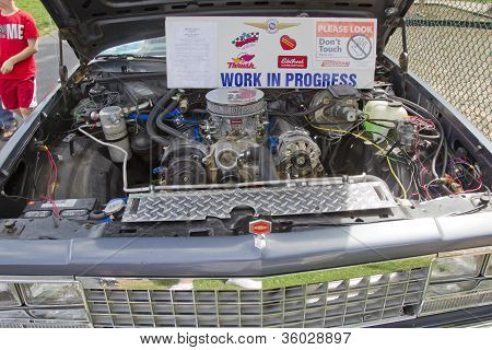 1983 Chevy El Camino Engine