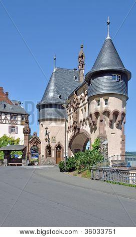 Bridge Gate,Traben-Trarbach,Germany
