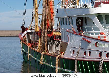 Green Fish Trawler