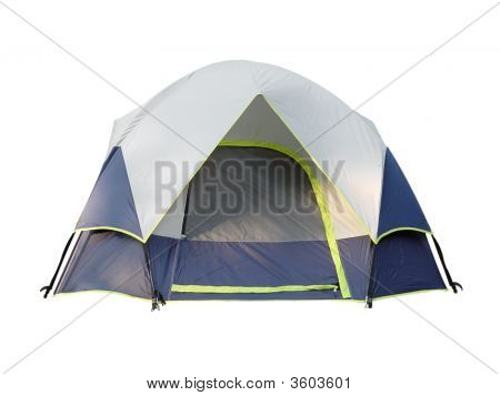Camping Tent Isolated
