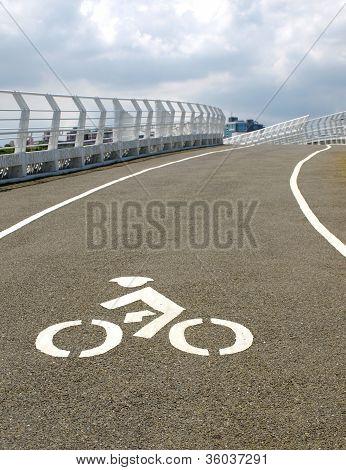 Modern Bicycle Bridge