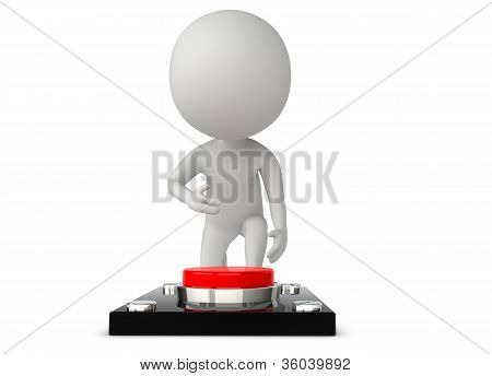 3D Humanoid Character Press A Button