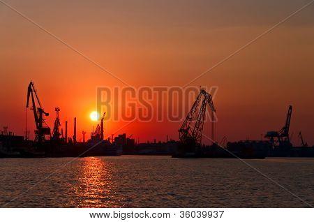 Evening Port