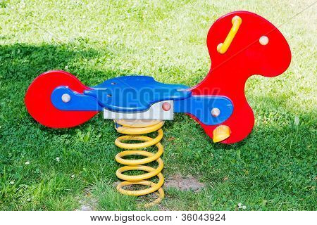 Colorful Play Equipment