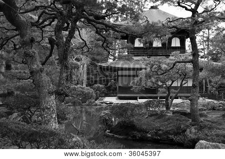 Garden And Temple