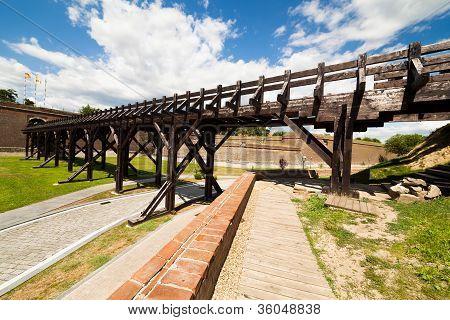 Wooden Bridge On Stronghold