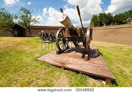 Cannons Near Wall