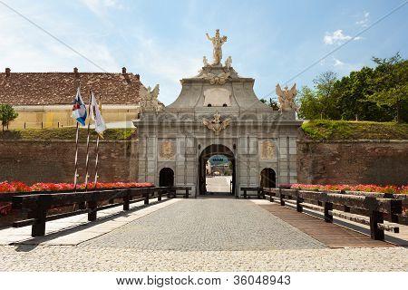 Alba Iulia Stronghold In Romania