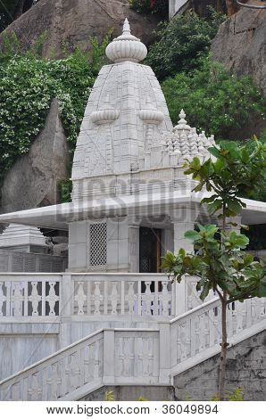 Birla Mandir (Hindu Temple) in Hyderabad, India
