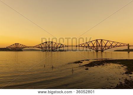 The Forth railway bridge
